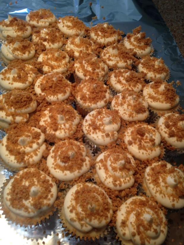 key lime pie cupcake mass